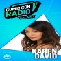 Artwork for Karen David from Fear The Walking Dead chats with Galaxy