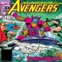 Artwork for The Crossing Line Part 2 (Avengers #320): Quantum Zone Episode #33