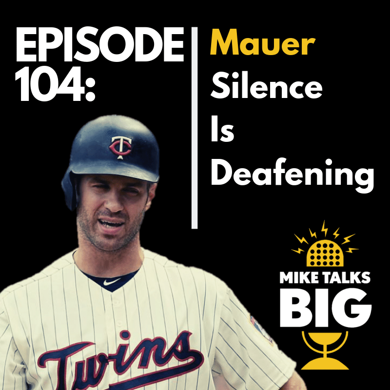 Mauer Silence Is Deafening! show art