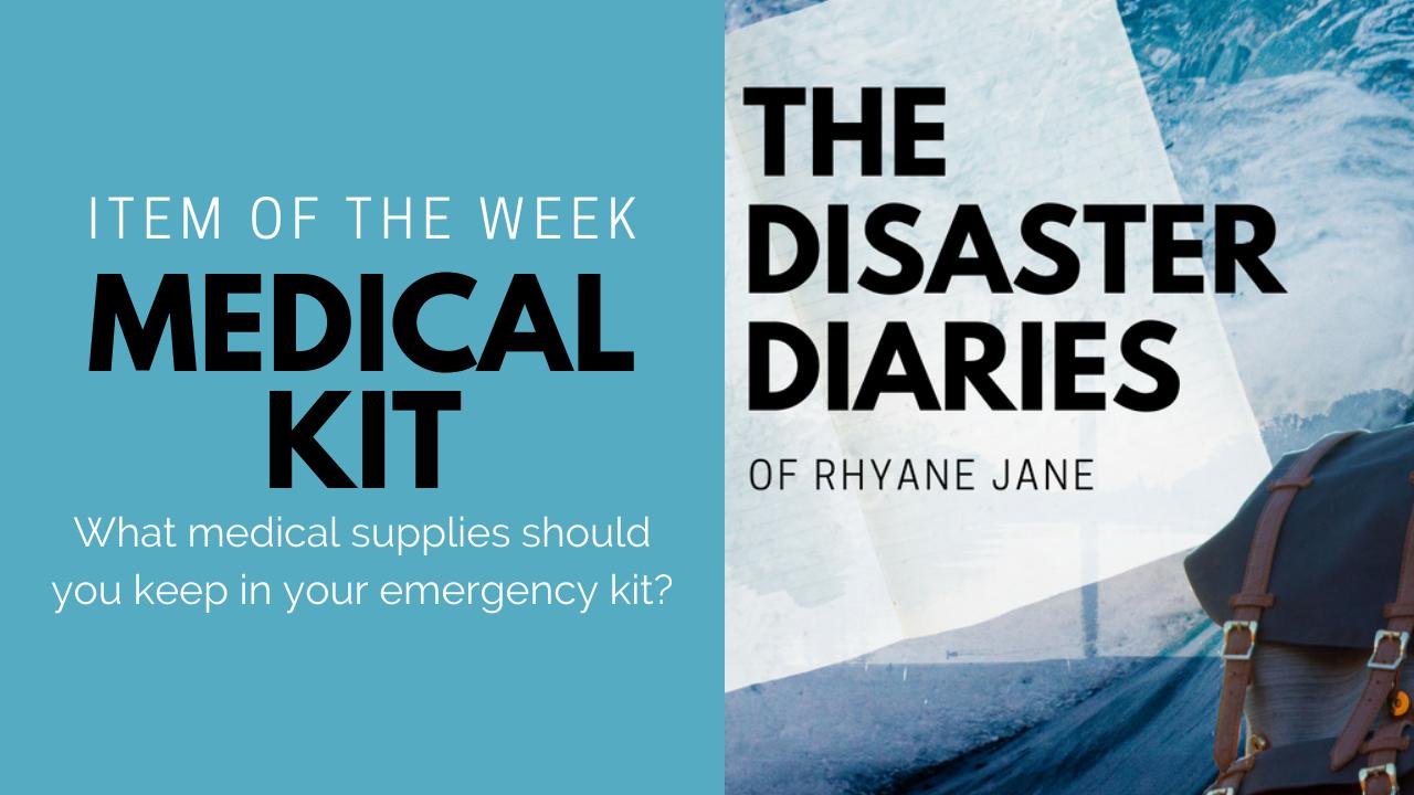DDRJ Item of the Week - Medical Kit