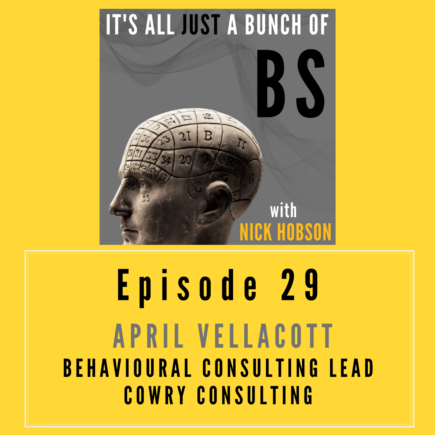 Episode 29 with APRIL VELLACOTT: The Importance of Democratizing (Behavioral) Science
