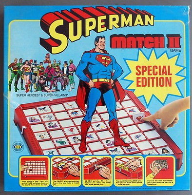 Superman Match II Game Box