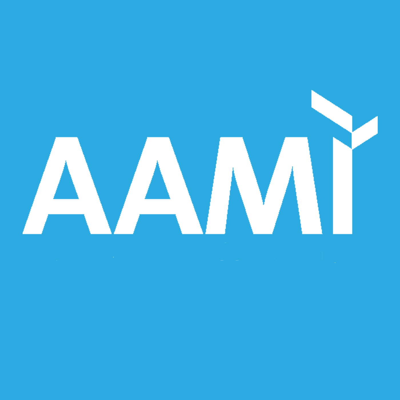 The Association for the Advancement of  Medical Instrumentation Podcast - AAMI show art