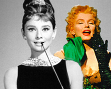 Marilyn Monroe & Audrey Hepburn:<br />Looking For Love In All The Wrong Places