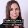 Artwork for Ep 83: PublishDrive with Kinga Jentetics