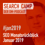 Artwork for SEO-Monatsrückblick Januar 2019: Redirects, Google Search Console, Linktausch + mehr