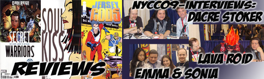 Episode 178 - NYCC09 Wrap up with Dacre Stoker, Ian Holt, Emma Vieceli, Sonia Leong & Lava Roid