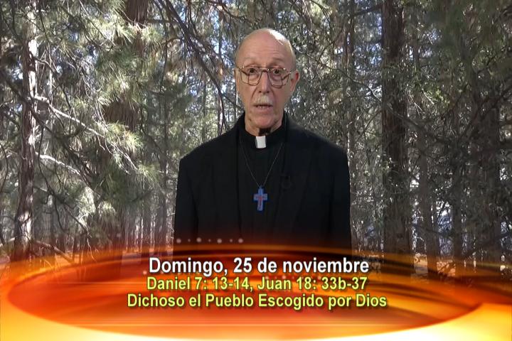 Artwork for Dios te Habla con Fr. Lenny de Pasquale;  El tema: Dichoso el pueblo escogido por Dios.