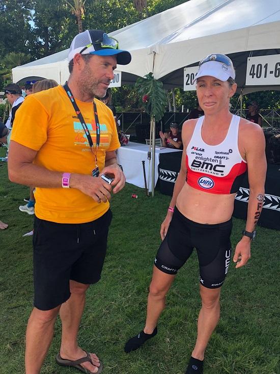 Liz Blatchford post race