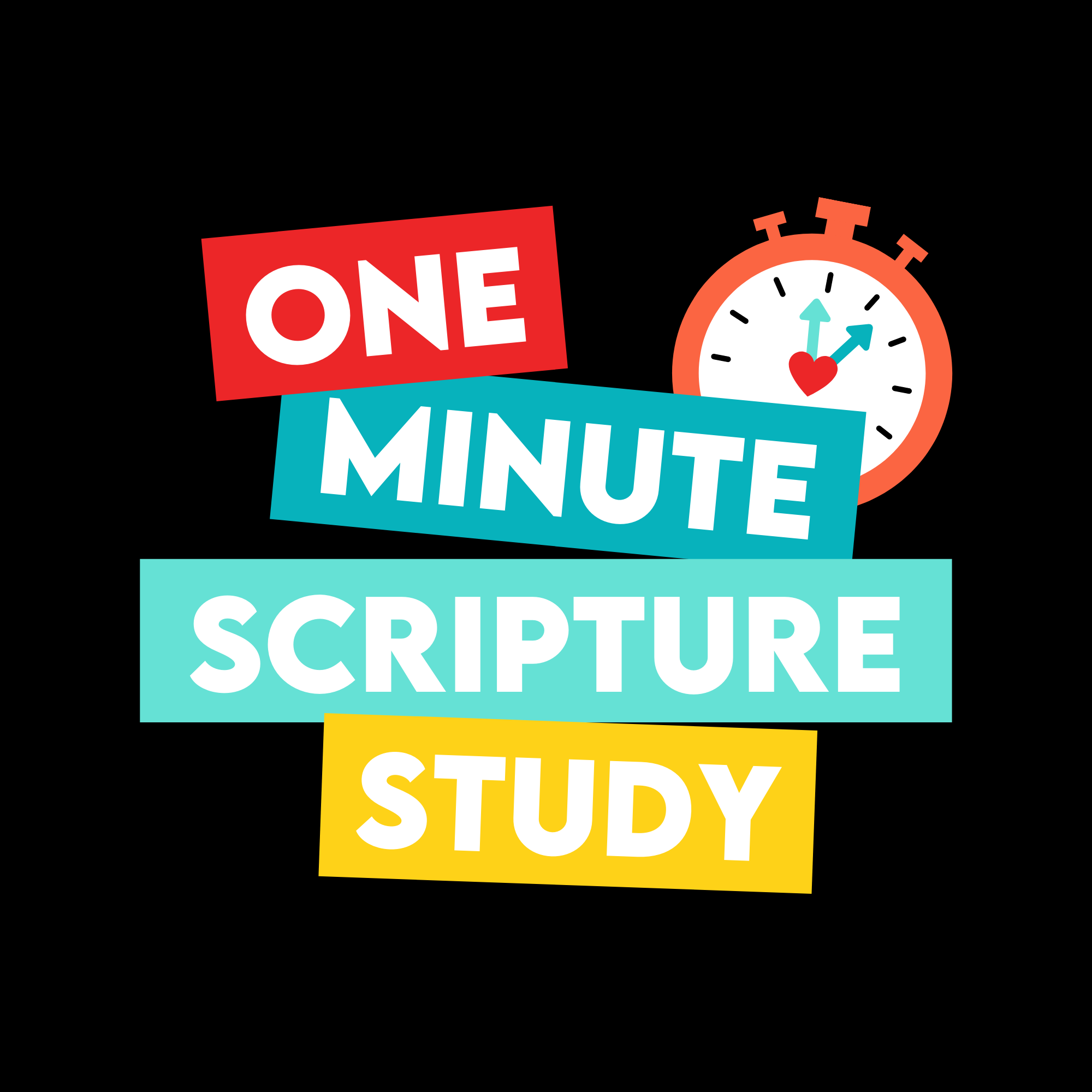 One Minute Scripture Study: A Come Follow Me Podcast show art