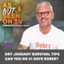 Artwork for DRY JANUARY Challenge – Can YOU Go 31 Days Sober?