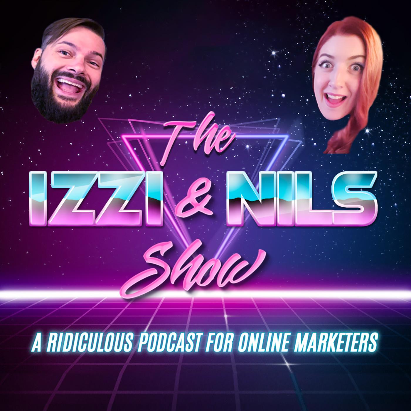 The Izzi & Nils Show show art