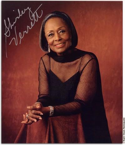 In Loving Memory of Shirley Verrett
