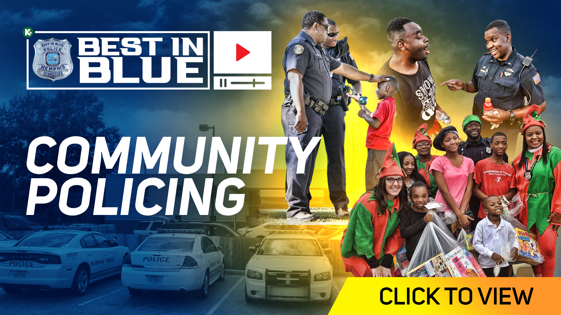 Artwork for BEST In BLUE TV - S1E5 | Community Policing with Deputy Chief Michael Hardy and Chief Deputy Floyd Bonner | KUDZUKIAN