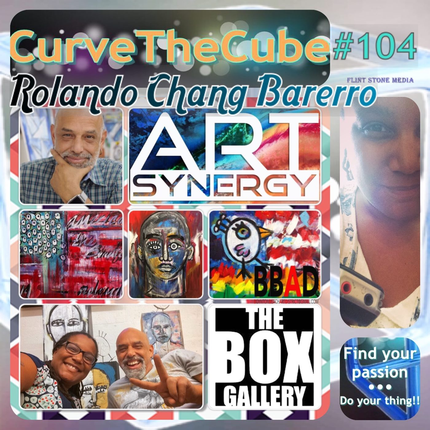 Activist and Artist Rolando Chang Barerro on the Curve the Cube Podcast