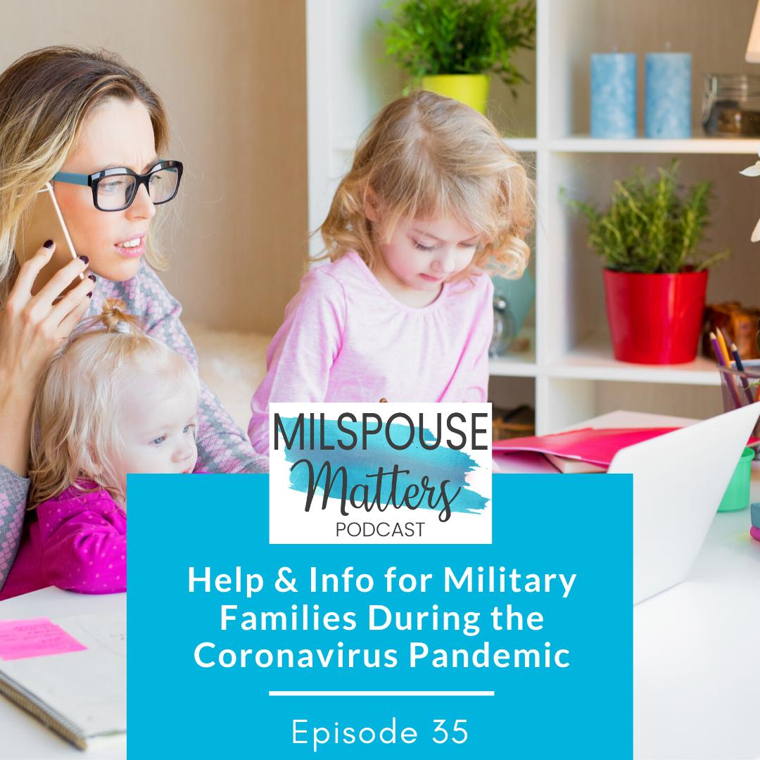 Coronavirus Info for Military Families