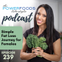 Artwork for 239: Simple Fat Loss Journey for Females