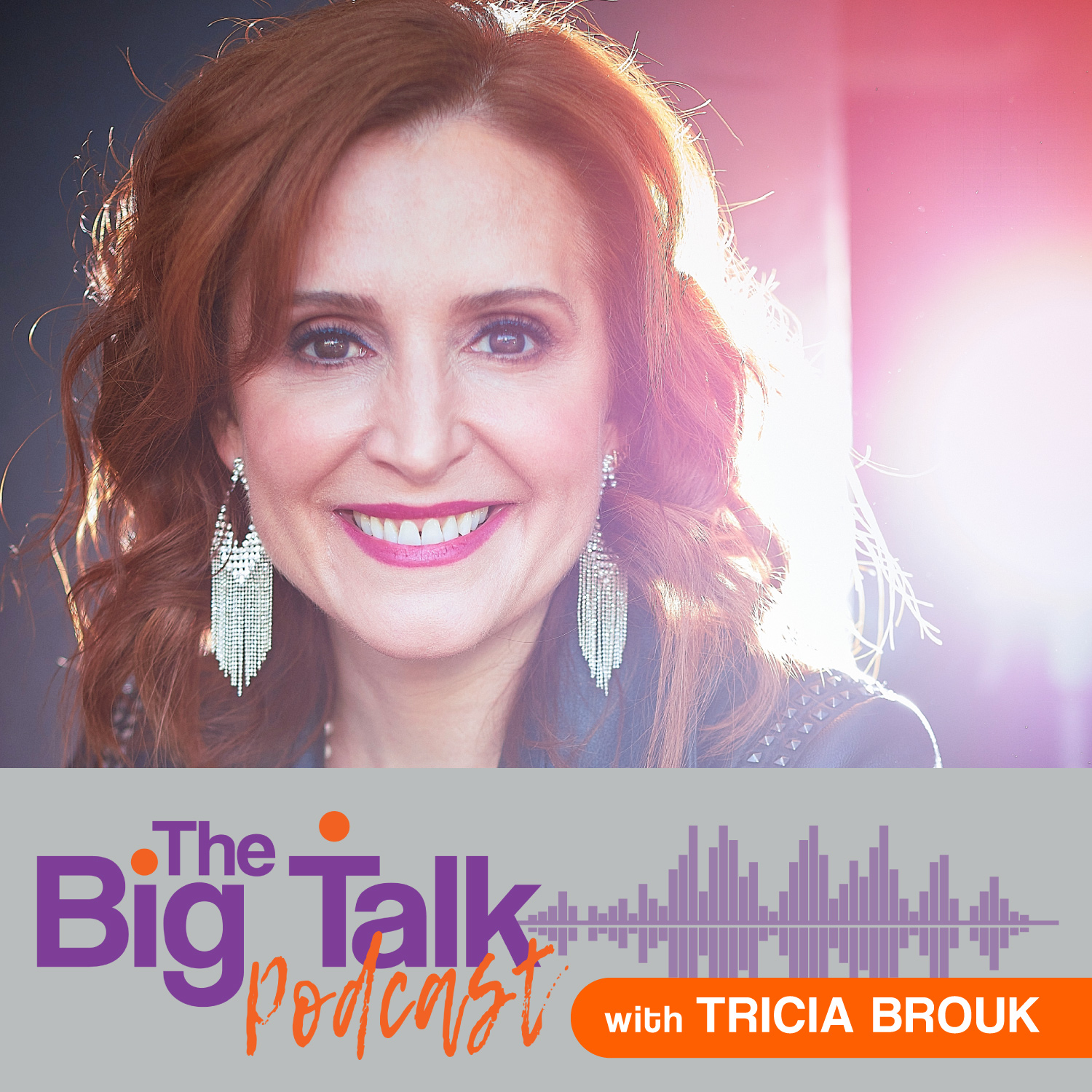 The Big Talk with Tricia Brouk show art