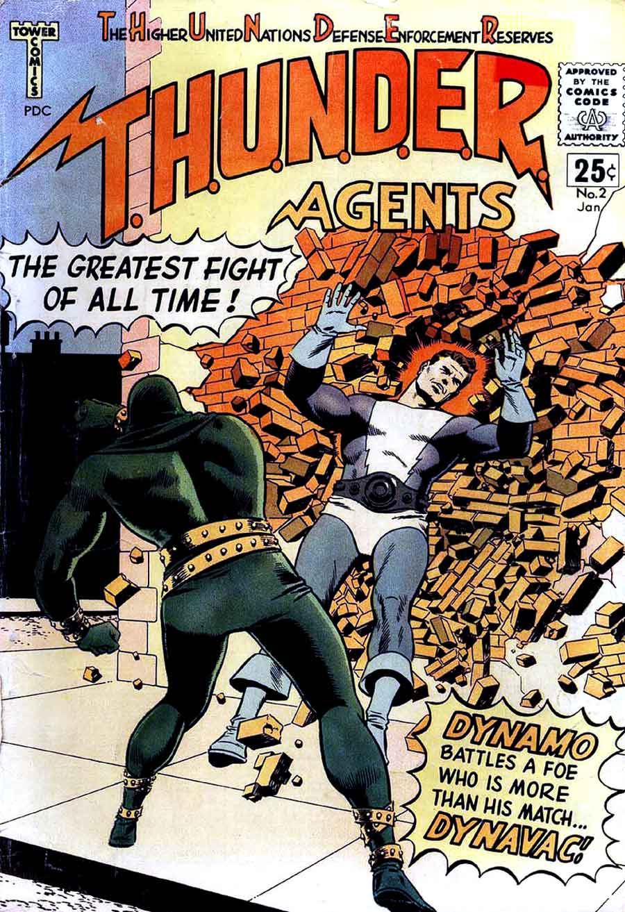 T.H.U.N.D.E.R.C.A.S.T. - The T.H.U.N.D.E.R. Agents Podcast, Episode 2