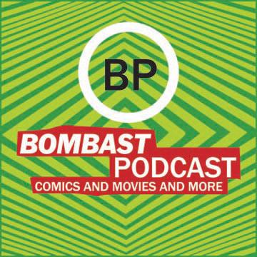 Bombast Podcast show art