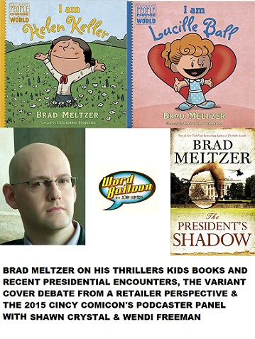Brad Meltzer, The Variant Cover Debate, & Cincy Comicon Podcast Panel