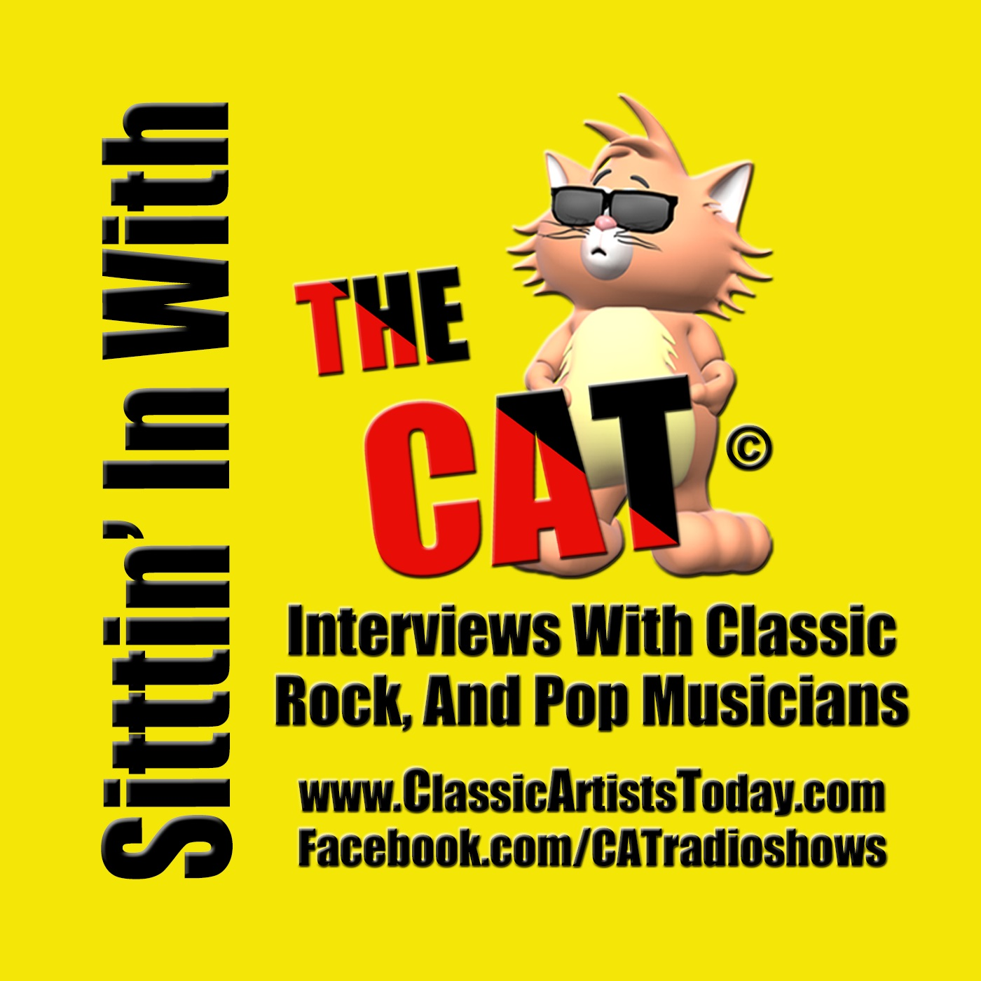 Sittin' In With The CAT show art