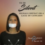 Artwork for To Silent Signals Defeat Or A Lack Of Concern