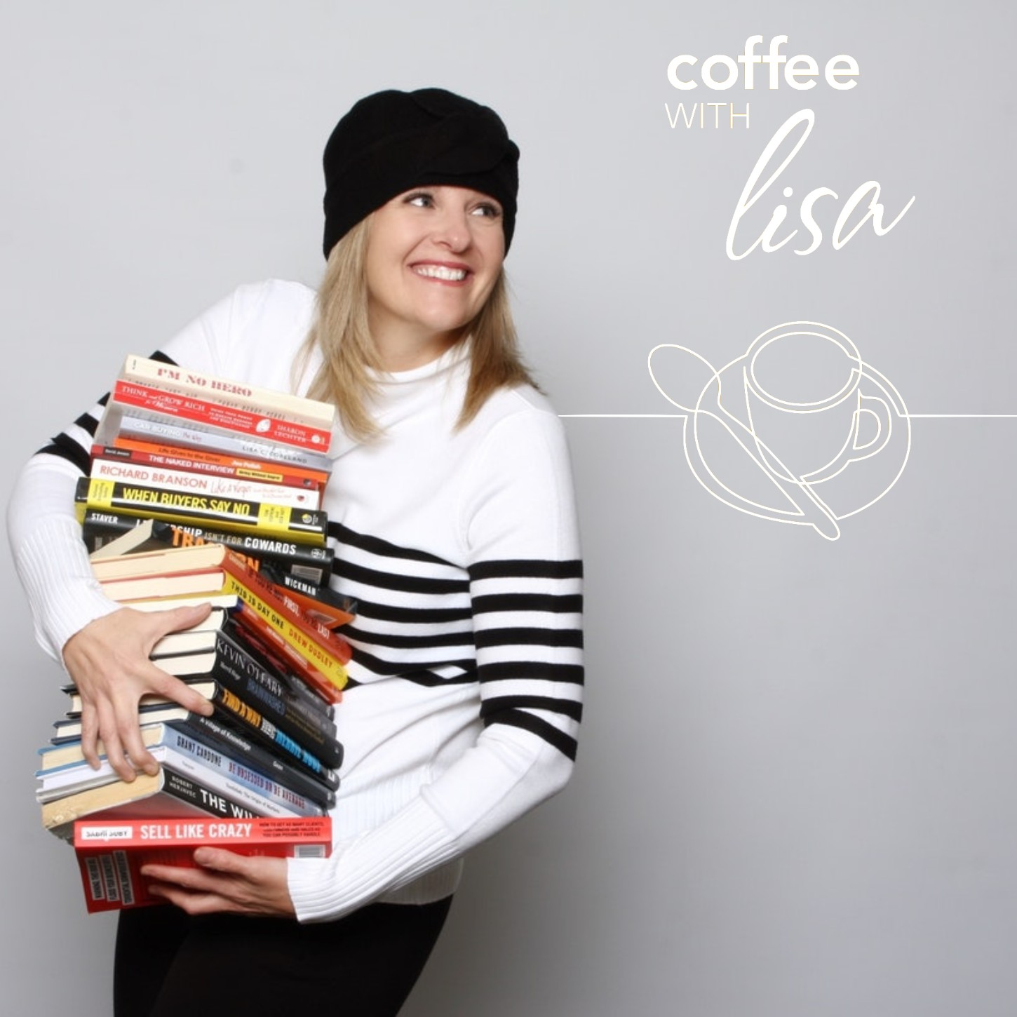 Coffee With Lisa Podcast | XTRAordinary Stories, Tips and Techniques to Be Successful in Business show art