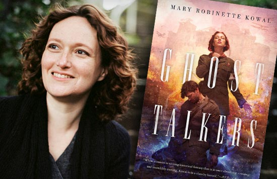 "Mary Robinette Kowal, author of ""Ghost Talkers"""