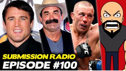 Submission Radio #100 Goldberg, Don Frye, Stipe Miocic, Tommy Toe Hold, Meltzer, Adam Hill + UFC Hidalgo