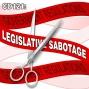 Artwork for CD121: Legislative Sabotage