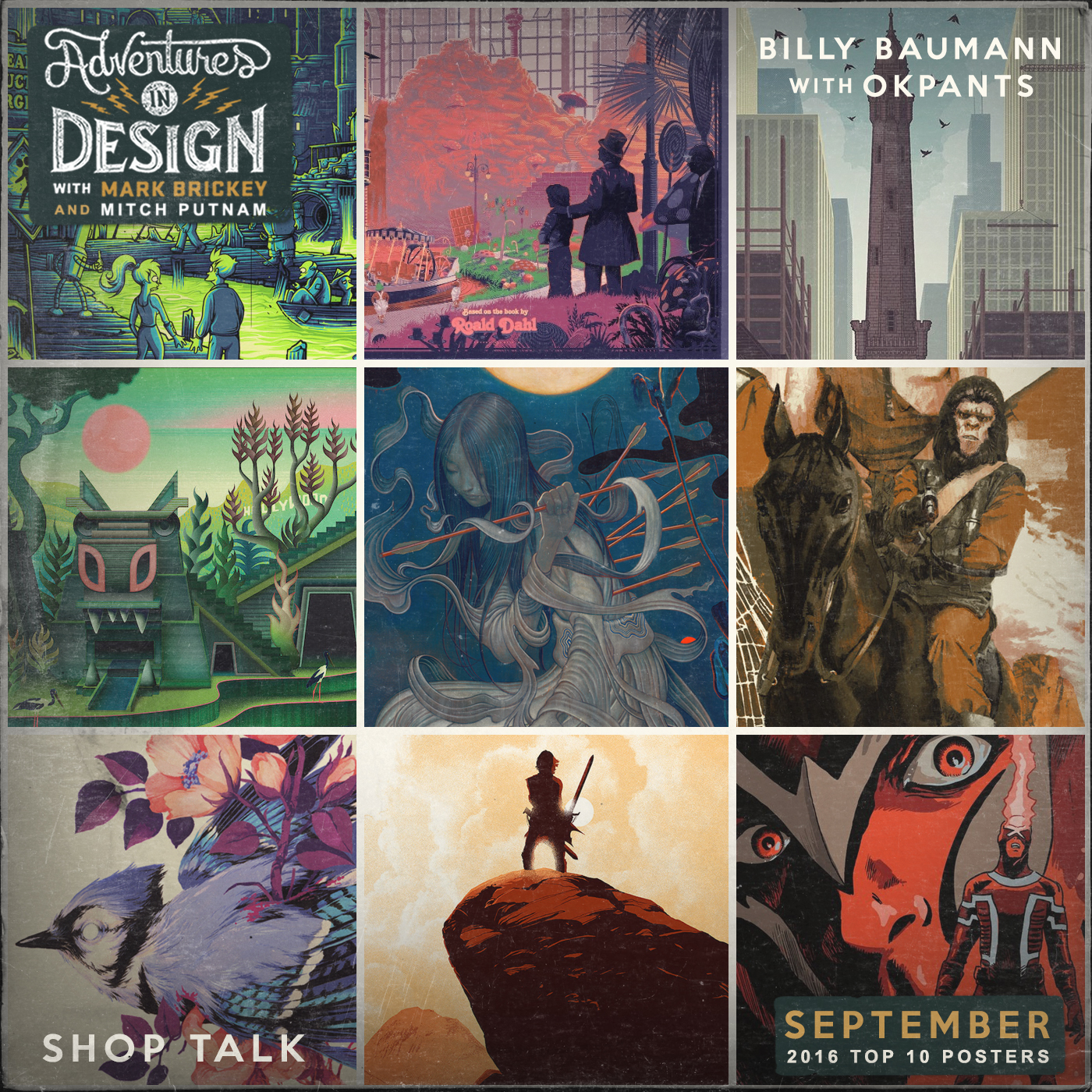 471 - Shop Talk / Poster Countdown with Billy Baumann, Mitch Putnam, and OK Pants