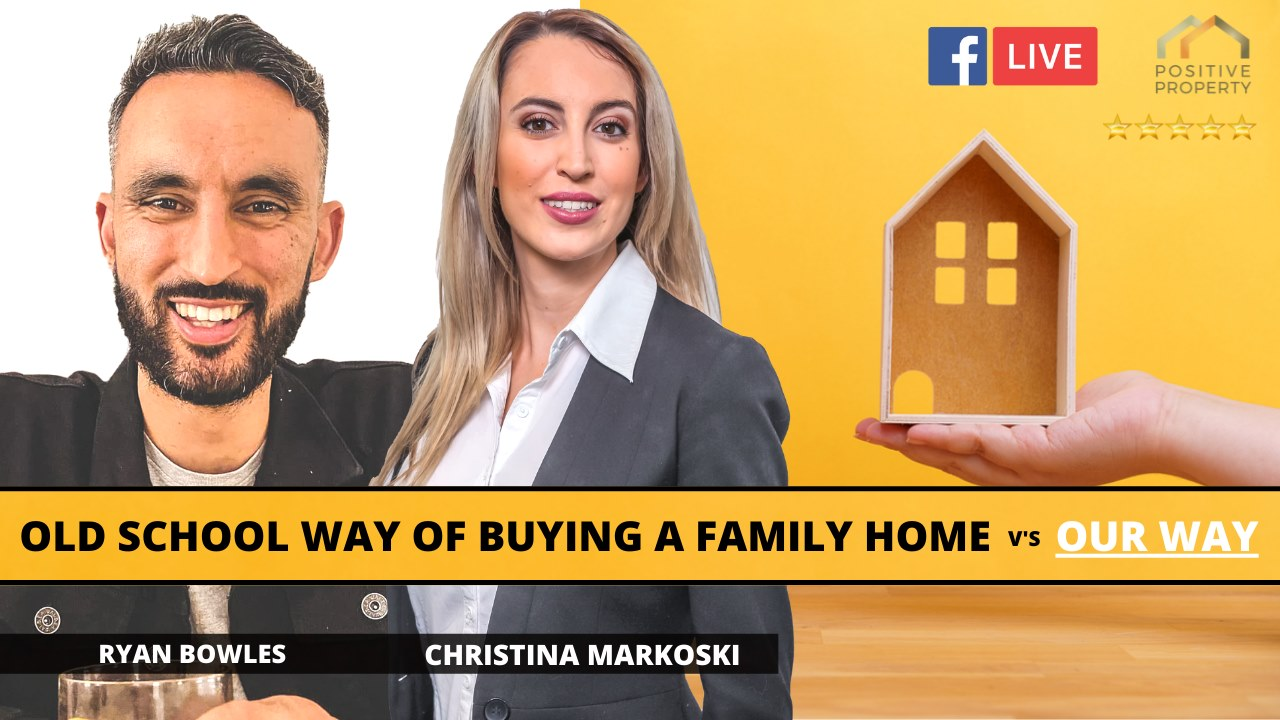 The Old School Way of buying a family home v/s OUR WAY show art