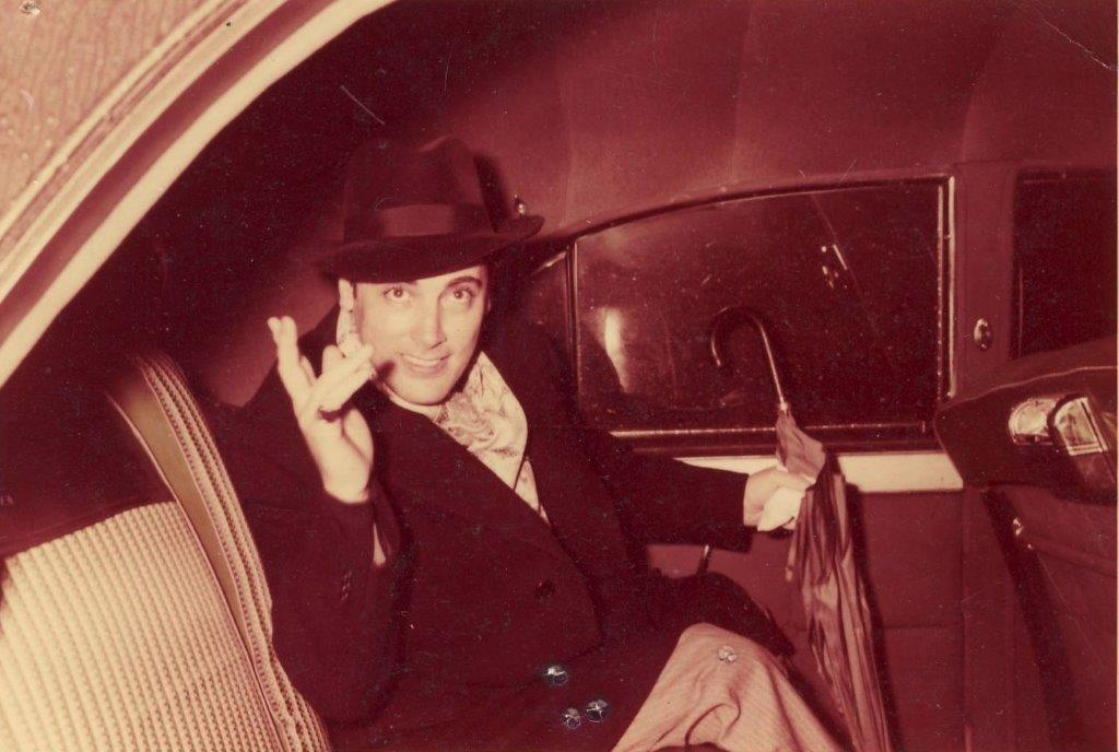 Mario in the Limo (circa 1955)