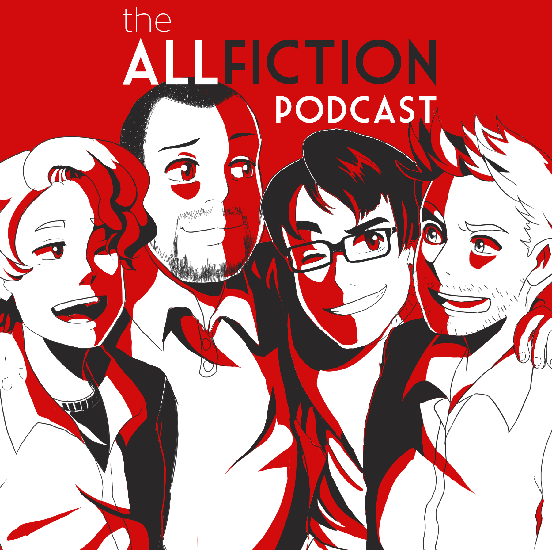 Artwork for The AllFiction Podcast - Episode 42 - Rockin' New Year