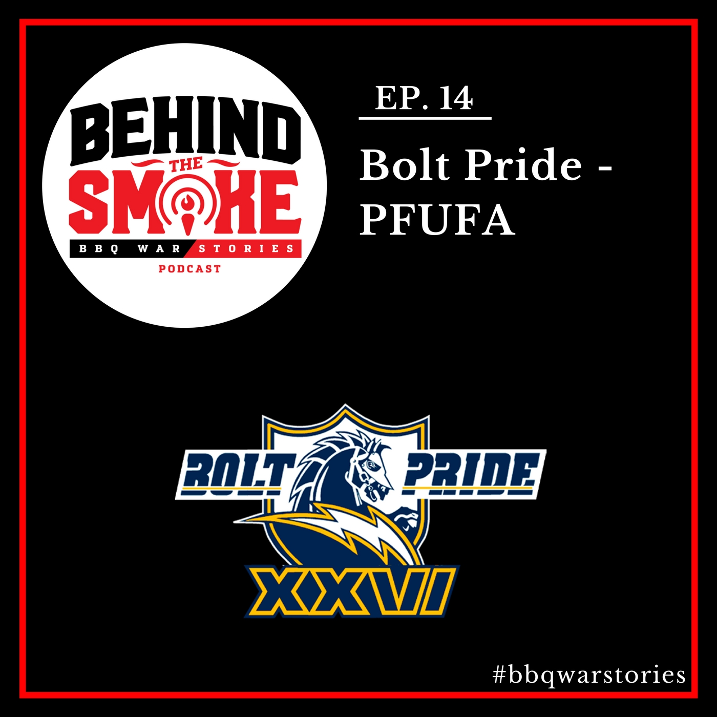 Artwork for #014 - Pro Football Hall of Fame 2017 PFUFA Weekend - Bolt Pride