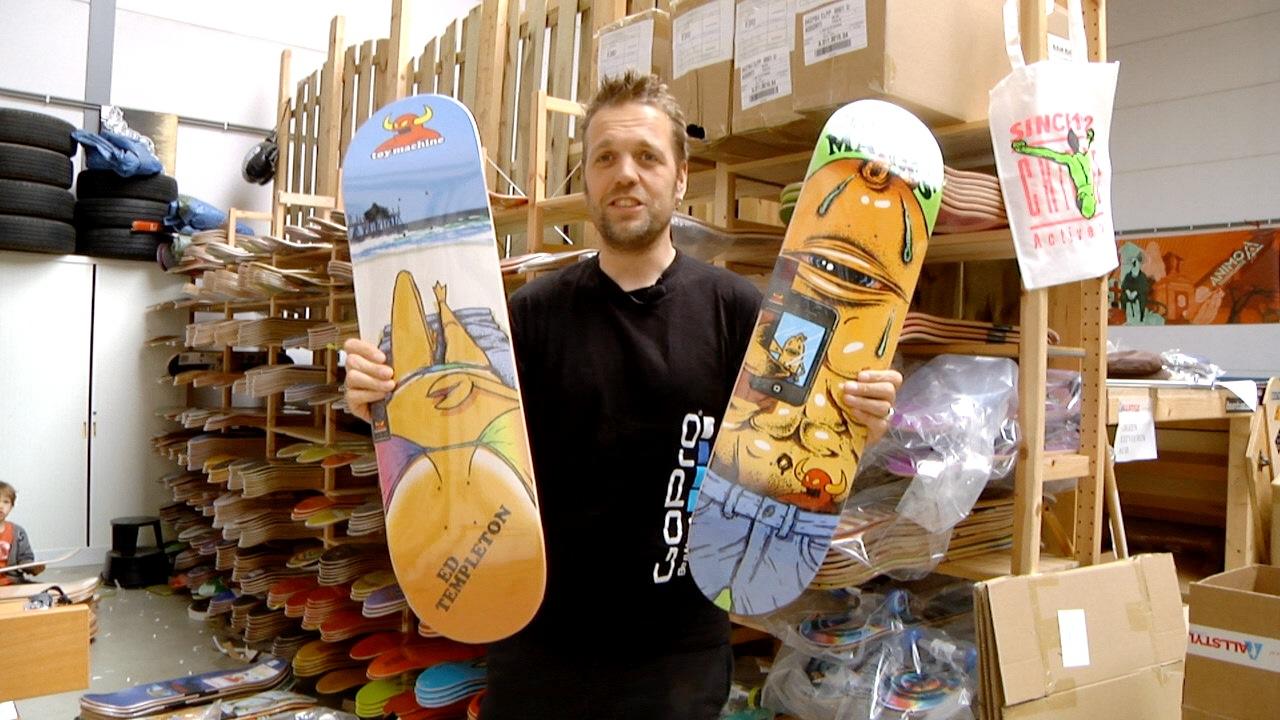 Artwork for Toy Machine Skateboards - Selfie Series 2014