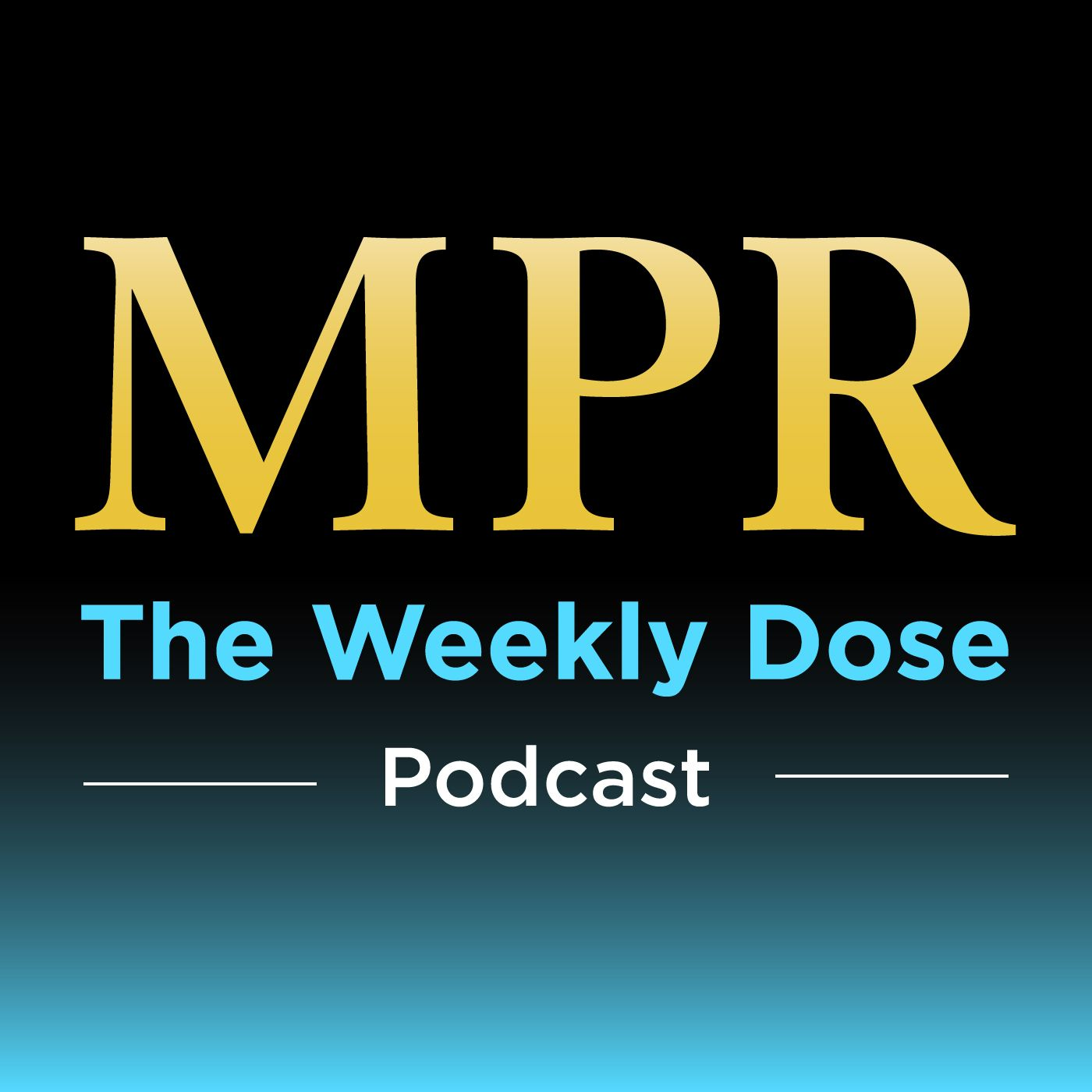 MPR Weekly Dose show art