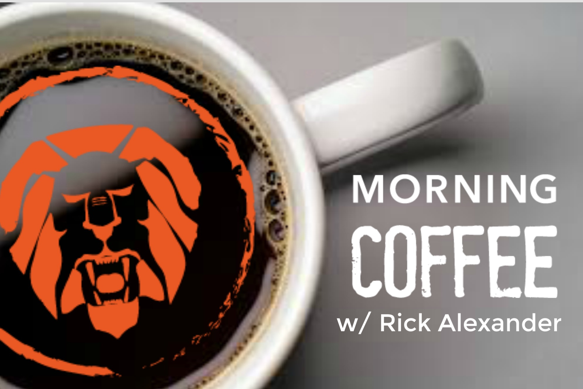 Morning Coffee with Rick Alexander show art