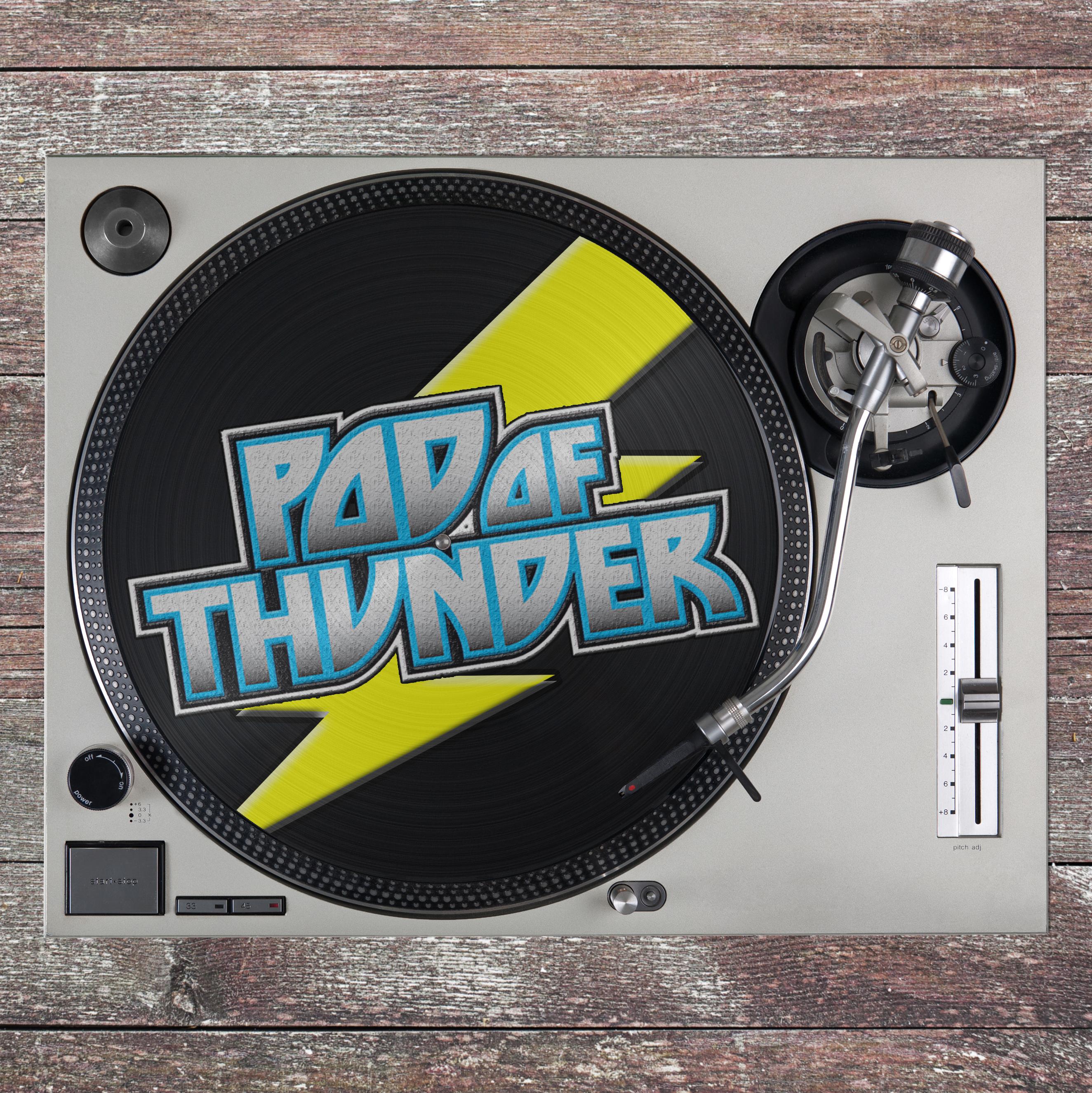 Pod of Thunder show art