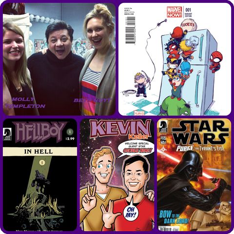 Episode 450 - My Damn Channeling with Beth Hoyt and Molly Templeton!