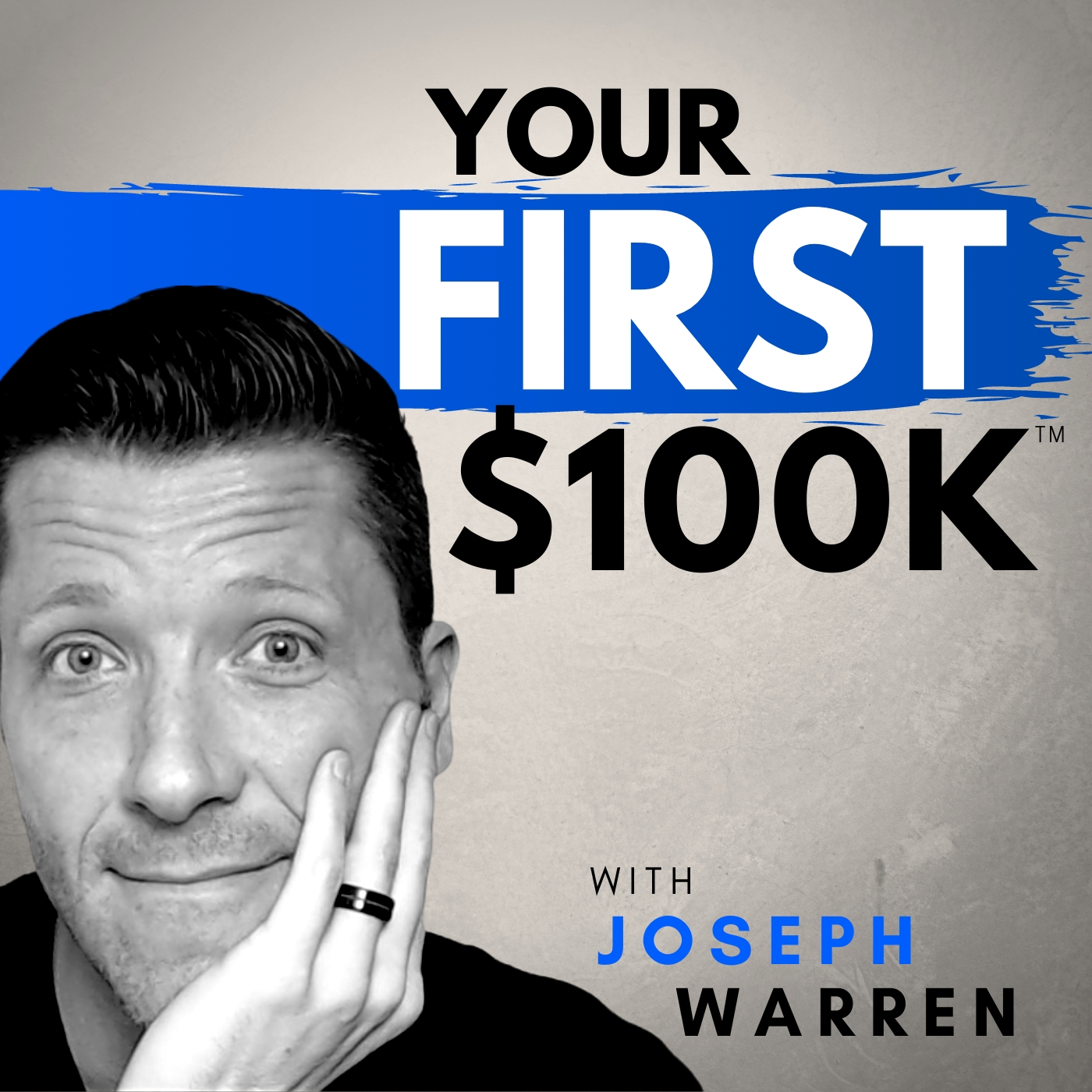 YOUR FIRST $100K SHOW - Life Coaching, Digital Marketing, & Business Growth for Christian Entrepreneurs show art