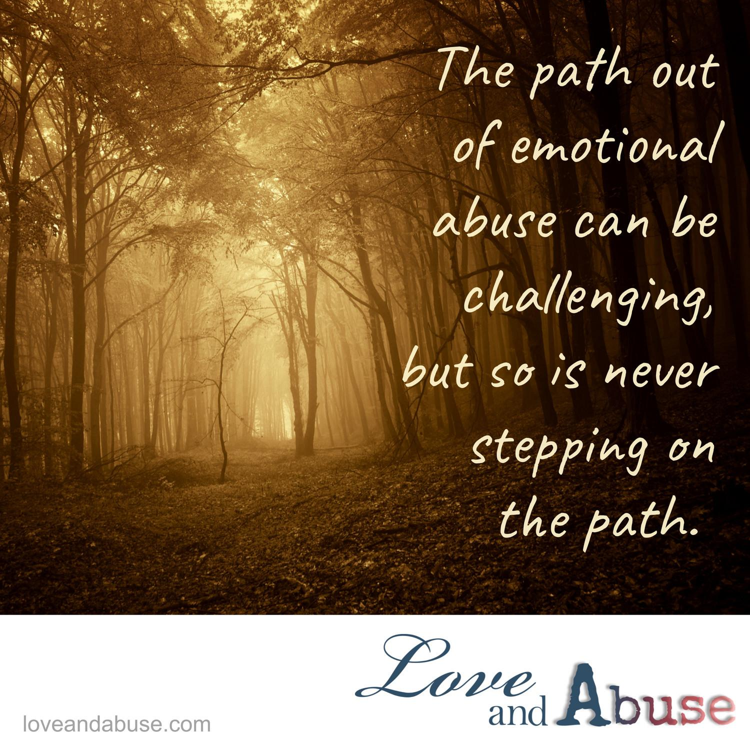 Don't let emotional abuse take your decisions away