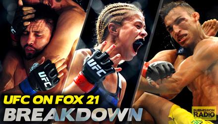 BREAKDOWN: UFC on FOX 21 (w/ Adam Hill)