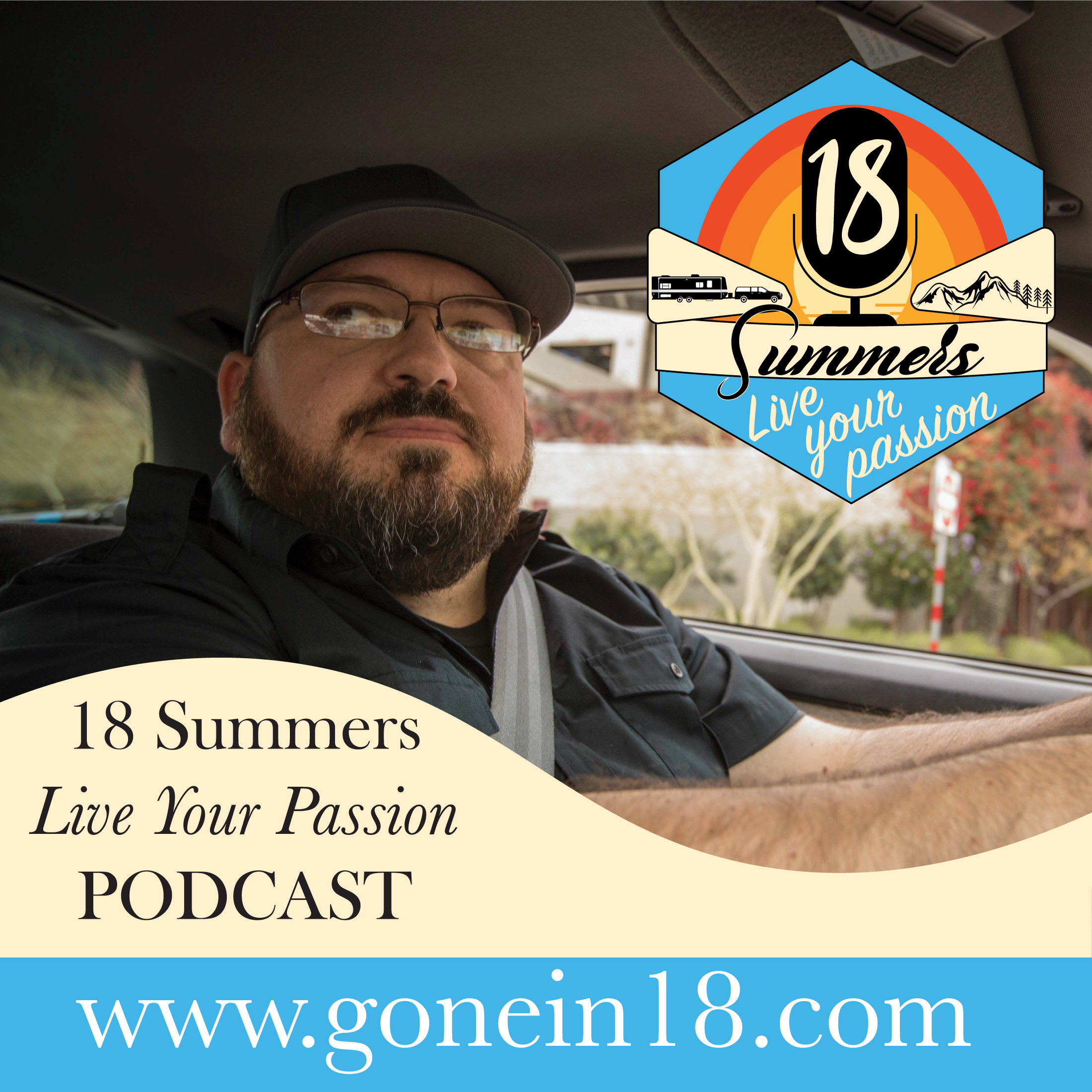 18 Summers Live Your Passion podcast show art