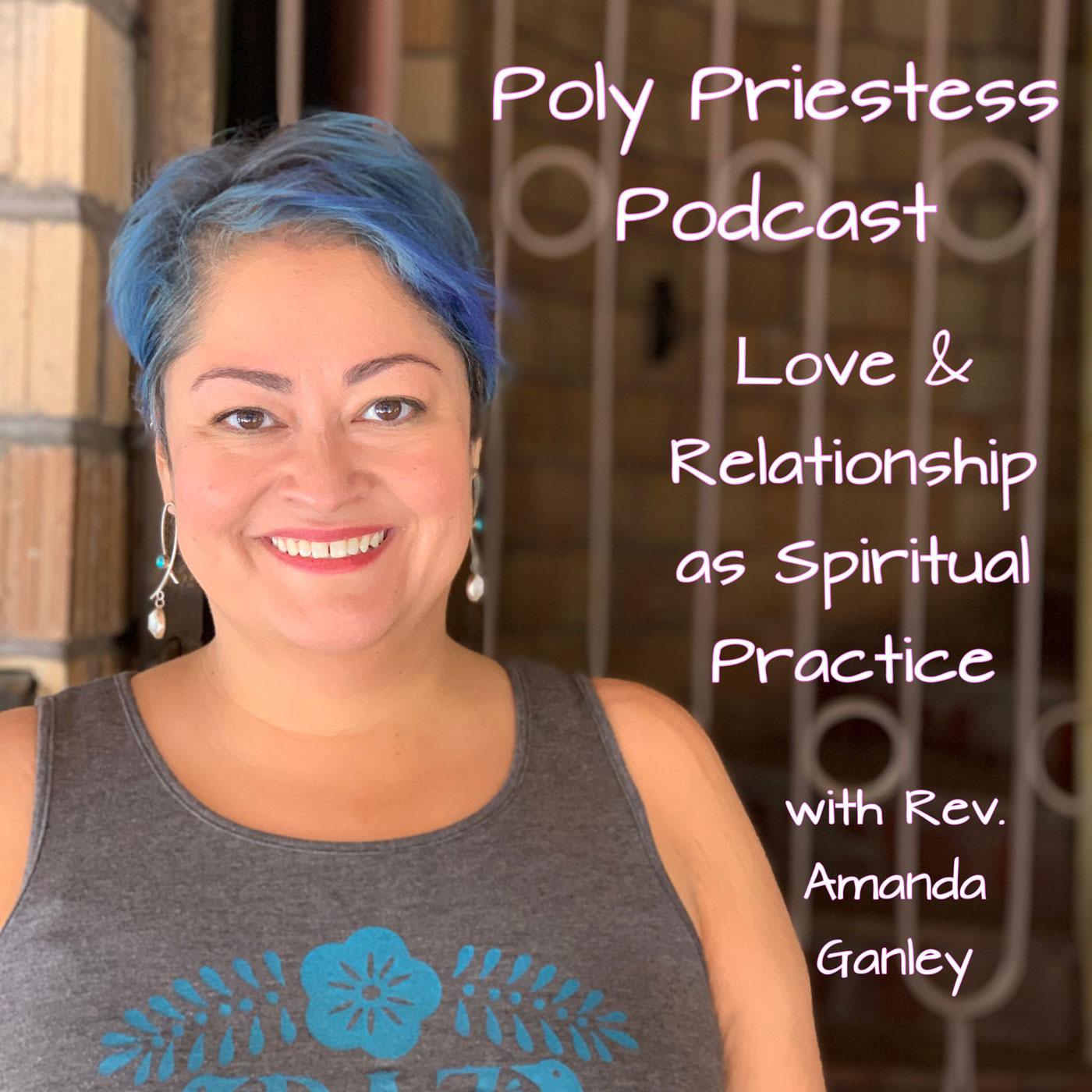 The Poly Priestess Podcast show art