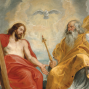 Artwork for (FRENCH) Sermon: La Très Sainte Trinité, par Mgr Sanborn