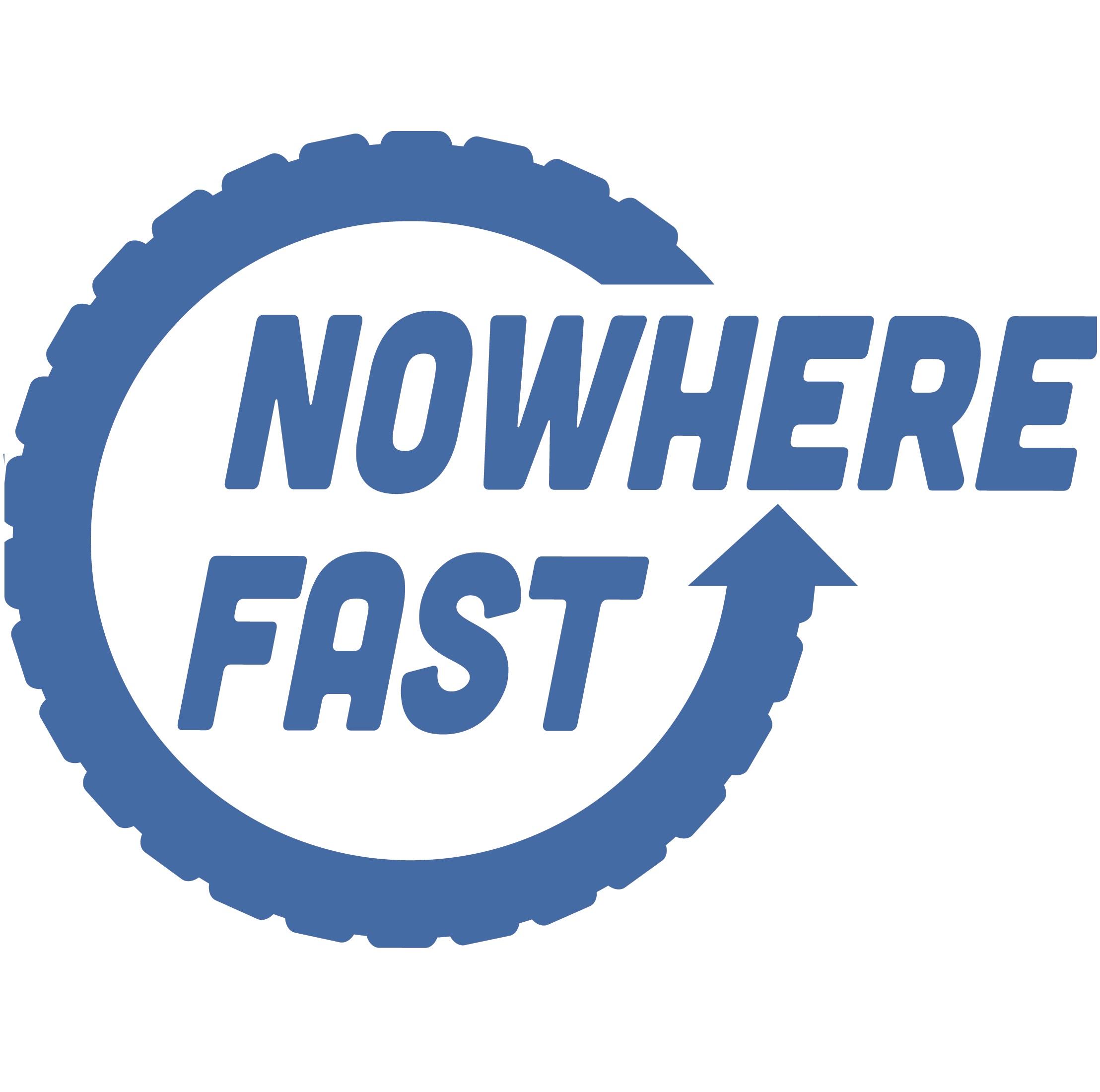 Nowhere Fast: A Virtual Bike Racing Podcast show art