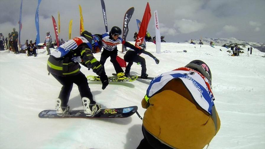 Artwork for Snowfest Dag 5 - Snowboardercross