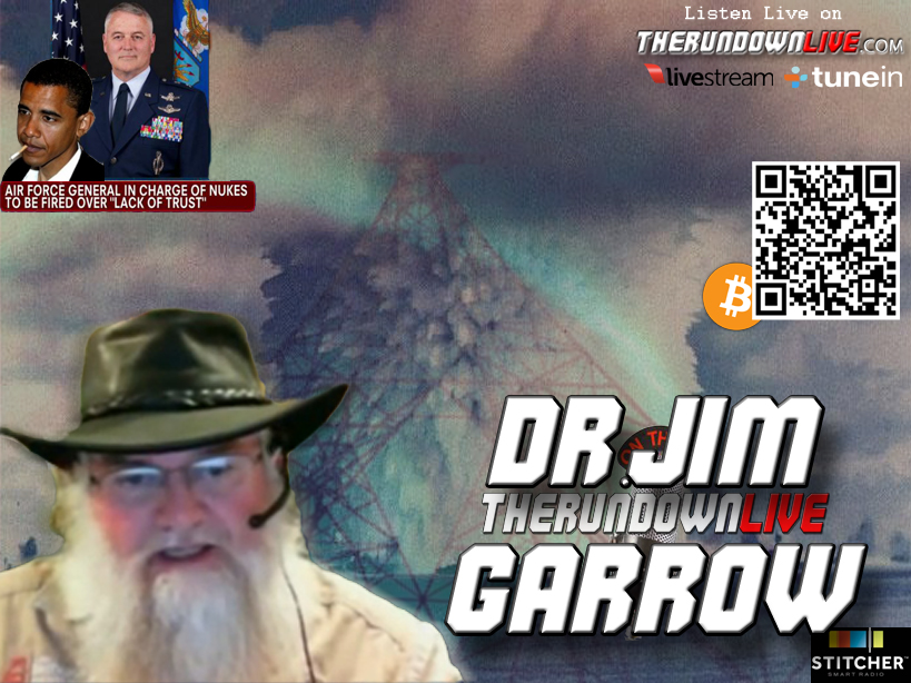 The Rundown Live #163 Dr. Jim Garrow (CIA,Nukes,Military,Obama)
